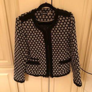 Karl Lagerfeld Polka Dot Blazer Jacket 12